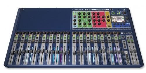 Soundcraft Si Expression 3 Mezcladora Digital de 32 Entradas XLR