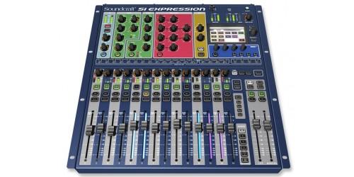Soundcraft Si Expression 1 Mezcladora Digital de 16 Entradas XLR