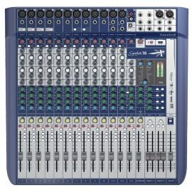 Soundcraft Signature 16 Mezcladora Analógica de 16 canales