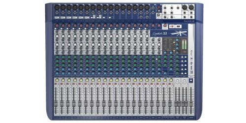 Soundcraft Signature 22 Mezcladora Analógica de 22 canales