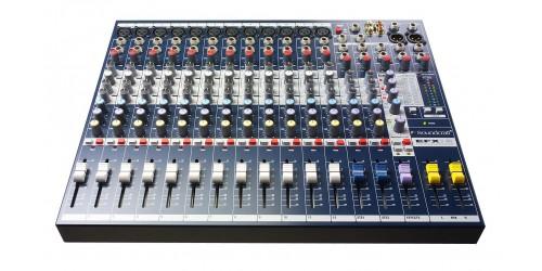 Soundcraft EFX12 Mezcladora Analógica de 12 Canales