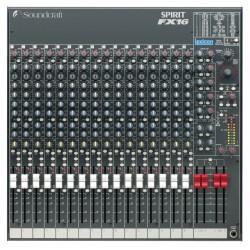 Soundcraft Spirit FX 16 Mezcladora Analógica
