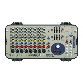 Soundcraft GigRac 1000 ST Mezclador Amplificado de 1000 watts