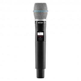 Shure QLXD2/BETA87A Micrófono Inalámbrico de Mano