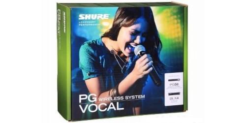 Shure BLX24/PG58 Sistema de Micrófono Inalámbrico