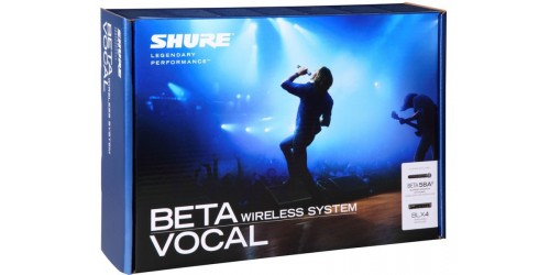 Shure BLX24/B58 Sistema de Micrófono Inalámbrico