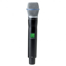 Shure UR2/BETA87C Micrófono Inalámbrico Vocal