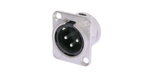 Neutrik NC3MD Conector XLR para montaje en panel