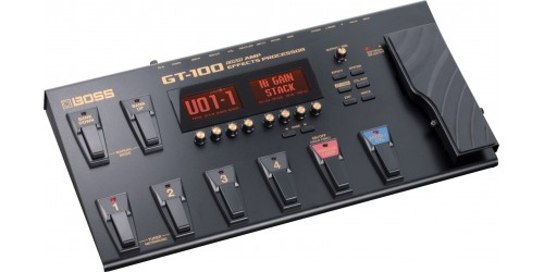 Boss GT-100 Pedalera Multiefectos