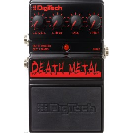 Digitech DEATH METAL Pedal de Distorsión