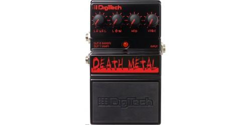 Digitech DEATH METAL Pedal de Distorsión