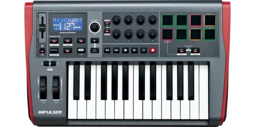 Novation IMPULSE 25 Teclado MIDI/USB